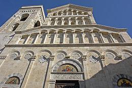 La cattedrale di Cagliari